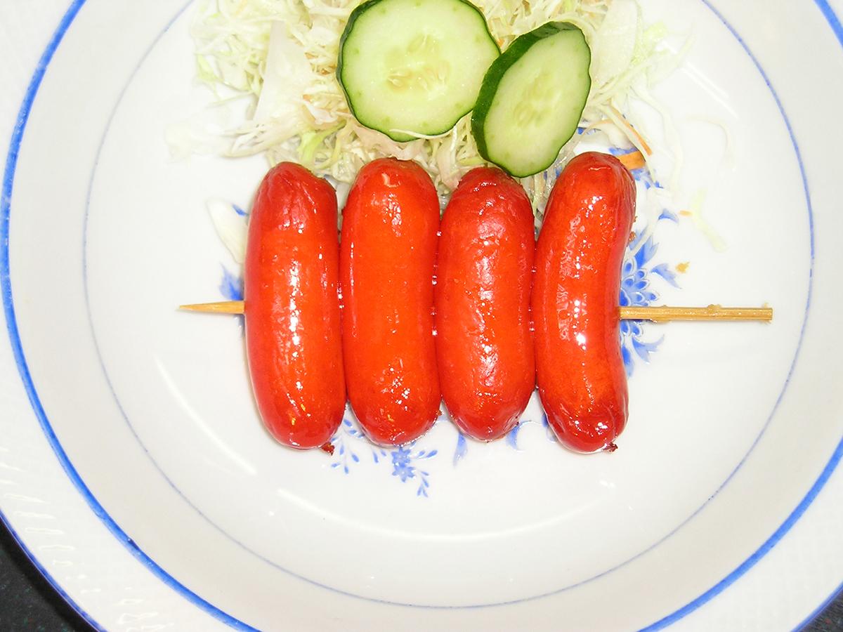 sausage-kushi
